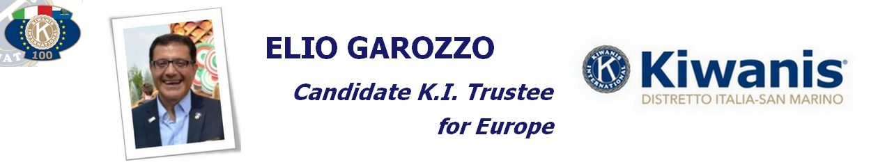 Elio Garozzo – Candidate K.I. Trustee for Europe