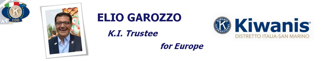 Elio Garozzo –  K.I. Trustee for Europe