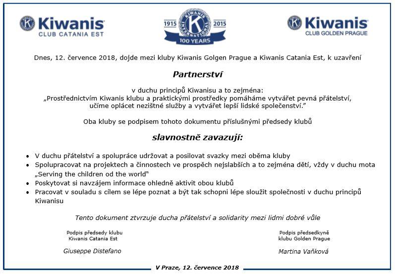 INTERNATIONAL ACTIVITIES | Elio Garozzo – K I  Trustee